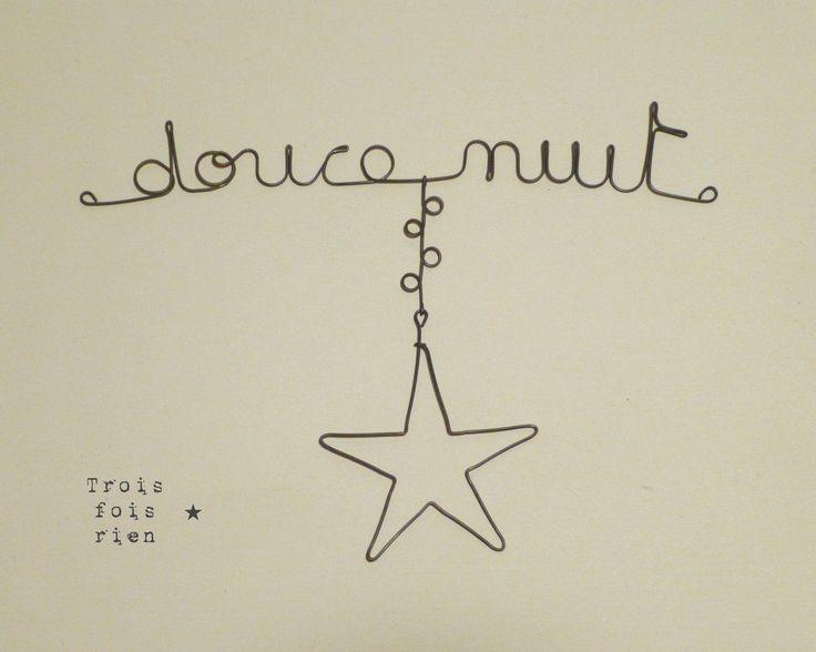 message_fil_de_fer_douce_nuit