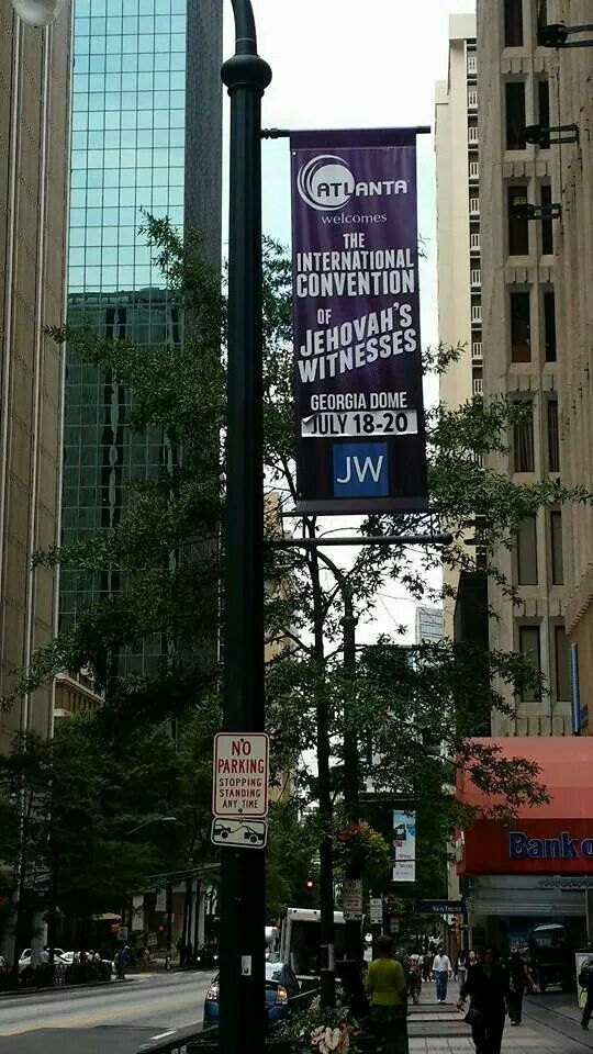 JW International Convention...Atlanta, Ga