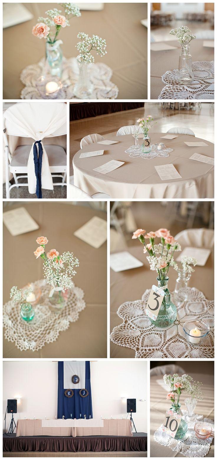 colored glass, vintage chic wedding reception, Kansas City wedding, Heather Brulez Photography