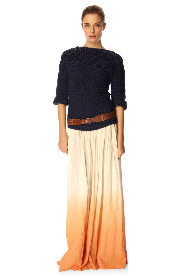 23 best FASHION: the ombré maxi skirt images on Pinterest | Maxis ...