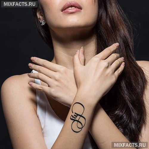 Татуировки с переводом: лучшие эскизы (фото)