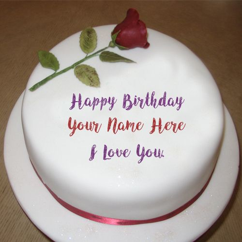 Love U Happy Birthday Cake Wishes Name Profile Pictures Sweet