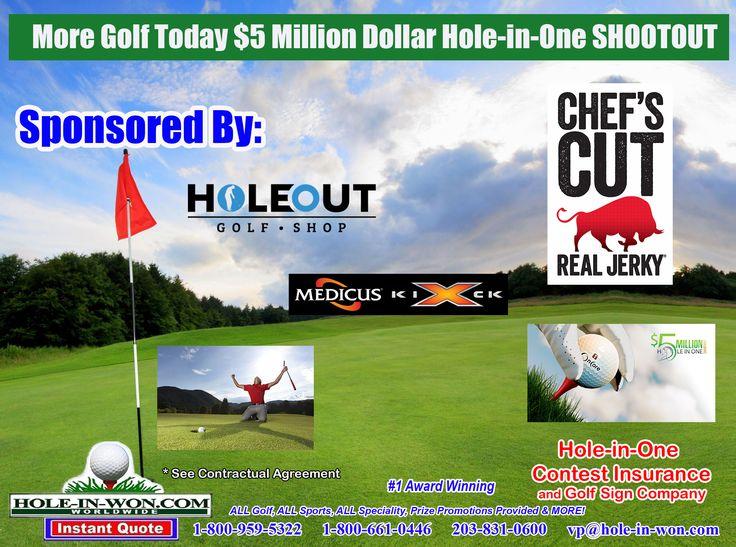 Million Dollar Hole In One Contest Florida Hole In Won Com Http Www Hole In Won Com 203 831 0600 Hole In One Triple Crown Dollar