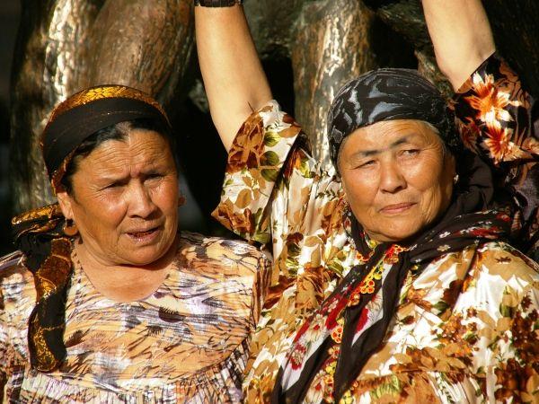 Lokale vrouwen in #Oezbekistan