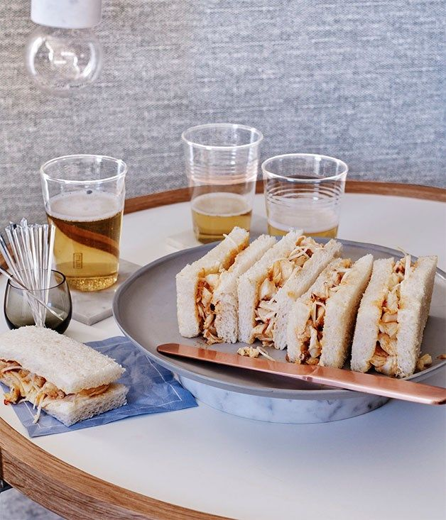 ... Sandwiches on Pinterest   Tea sandwiches, Sandwich cake and Sandwich