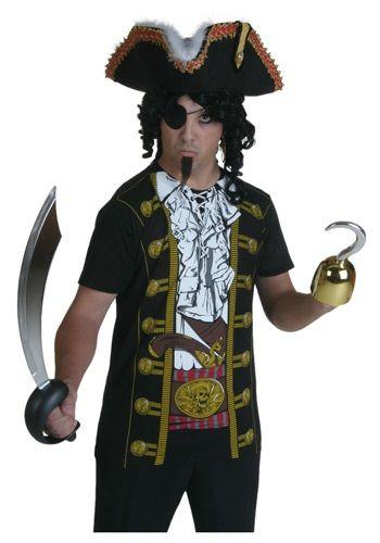 Mens Pirate Costume T-Shirt