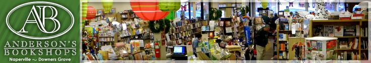 Anderson's Bookshop in Naperville and Downer's Grove, IL  was named Publisher's Weekly bookstore of the Year