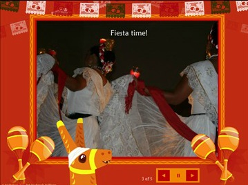 Pinata slideshow for sharing Cinco de Mayo memories from Smilebox.