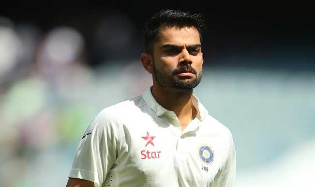 Indian test captain kohli