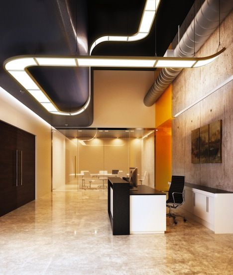 3M's FLEX is a linear modular lighting system that can be curved along walls or…