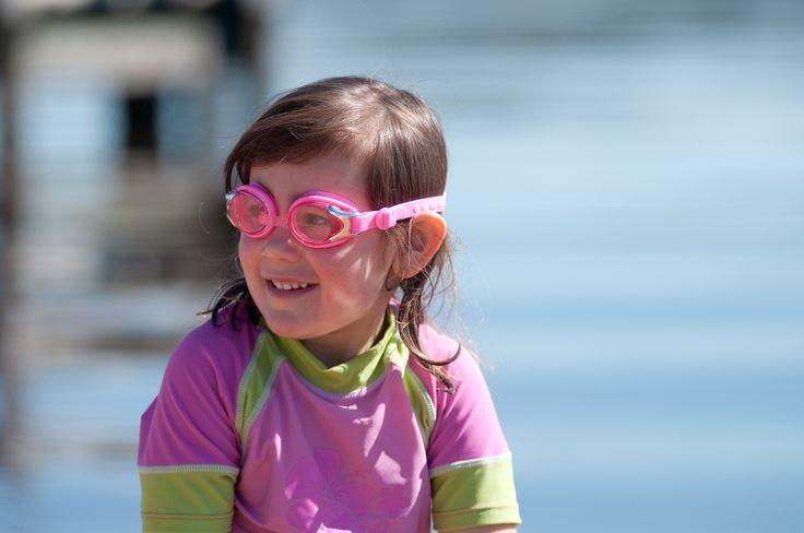 Banz swim goggles Pink.