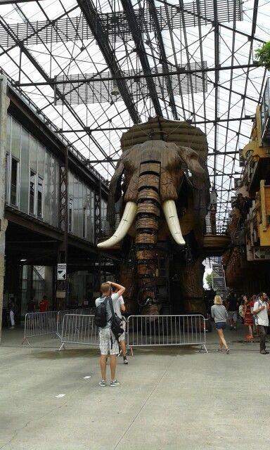 Ile de Nantes- Elephant