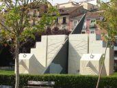 Relojes solares-lunares de los Jardines del Mercado Puerta de Toledo   Obra de Alberto Corazón y Juan José Caurcel   Barrio de Embajadores - Madrid
