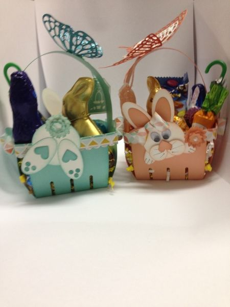Berry Basket Easter Baskets by Eva Gail Lowe SK. Canada