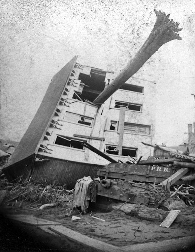 Johnstown Flood, Pennsylvania, 1889
