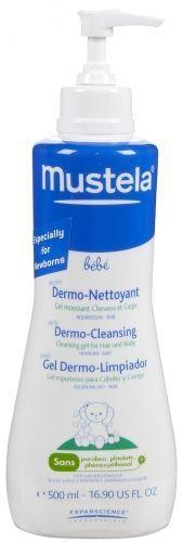 Mustela Dermo Cleansing Gel 500 ml - Saç ve Vücut Şampuanı Bebeğinizin keyifli banyo yapabilmesi için doğumdan itibaren kullanabileceğiniz sabun içermeyen saç ve vücut şampuanı 48.90 TL olan ürünümüz şimdi %15 İNDİRİMLE 41.57 TL !