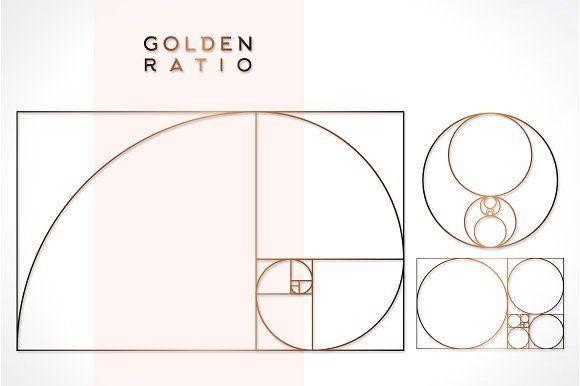 Golden Ratio Business Card Logo Golden Ratio Mockup Design