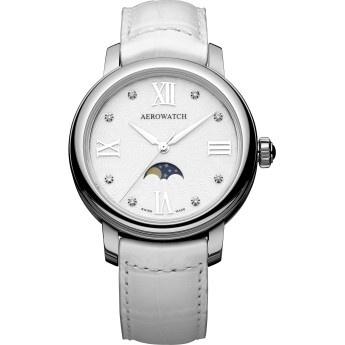 Aerowatch: Reloj Mujer Blanco Cristal Zafiro Aerowatch Miss Luna  http://www.tutunca.es/reloj-mujer-blanco-cristal-zafiro-aerowatch-miss-luna
