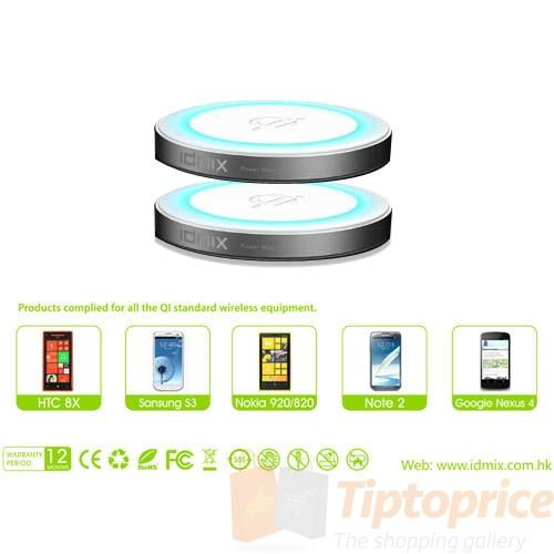 The Ultimate Shopping Gallery IDMIX Power Magic wireless charger for Smartphone