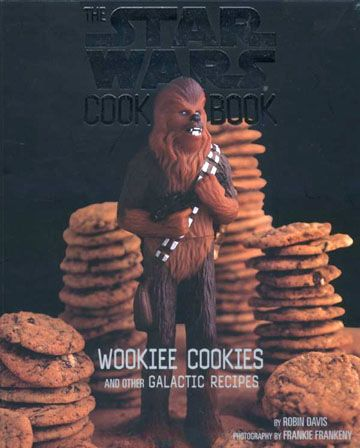 STAR WARS MOVIE PARTY!!!!:the star wars  cookbook- wookiee cookies, hoth chocolate, yoda soda, oh my!