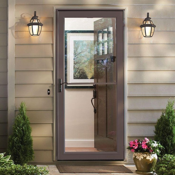 Best 25 Storm Doors Ideas On Pinterest Screen Doors