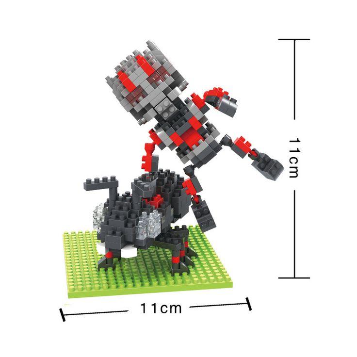 BOB DIY Blocks Marvel Super hero ant man 9525