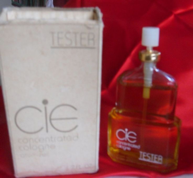 CIE FRAGRANCE PERFUME TESTER CONCENTRATED COLOGNE 98% FULL 2 FL OZ CIE ATOMIZER  #JACQUELINECOCHRAN