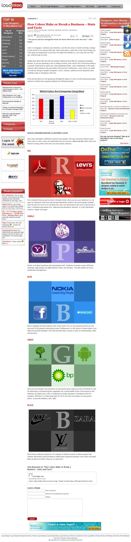 Random colors website - The Website Http Www Logoblog Org Color Make