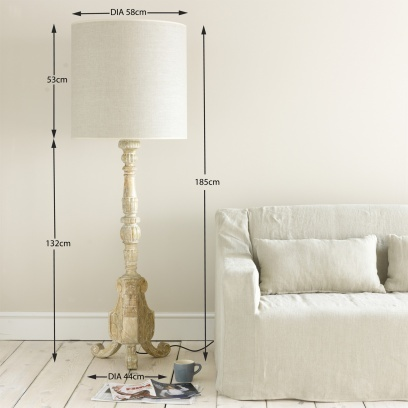 Big Boy – French-style Bedroom Lamps Big boy - Lighting | Loaf £375