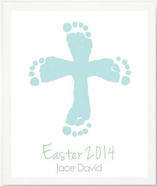 40 Easy Easter Crafts for KidsThe Holy Week officially begins today. In our Sunday school lesson this morning, we talked about Jesus