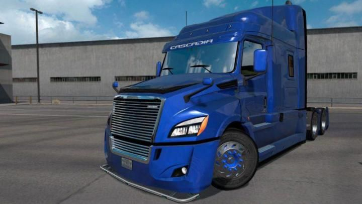 Ats Freightliner Cascadia 2018 Ultrabald Edition 1 34 X Download American Truck Simulator Freightliner Cascadia Freightliner