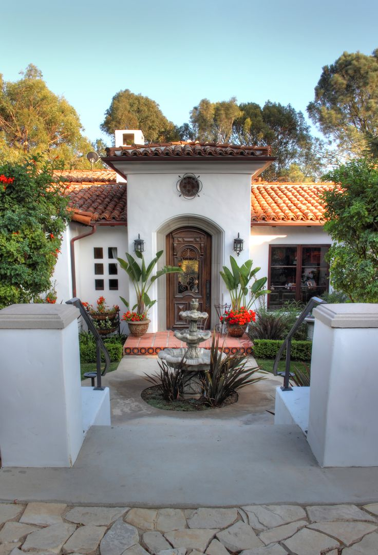 Old L A Home Mexican Style Homesspanish Style