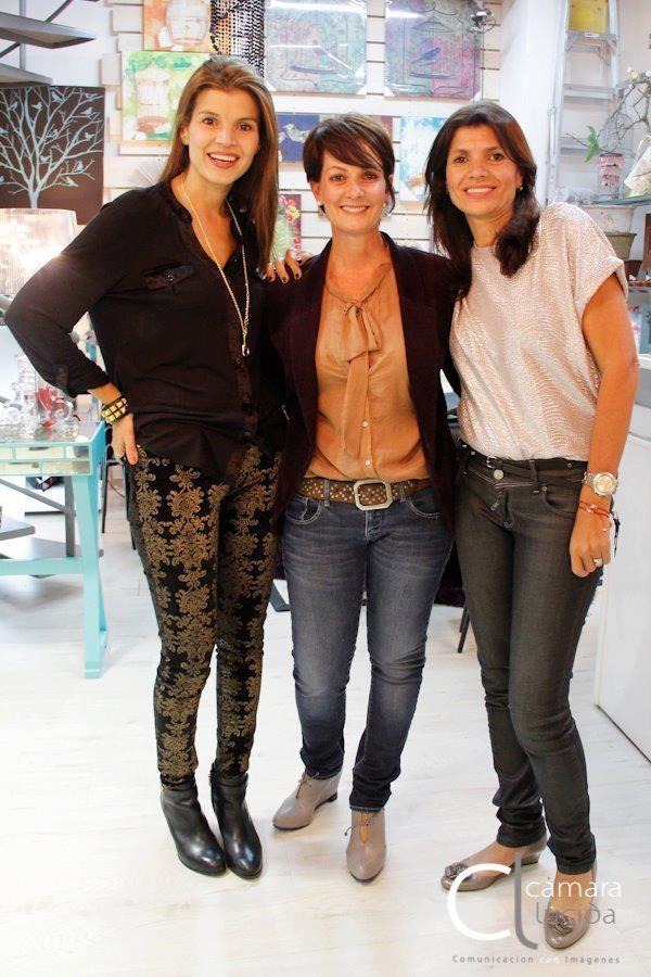 Tala Restrepo, Eulalia Piedrahita y Martha Restrepo