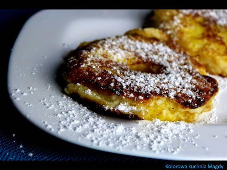 Kolorowa Kuchnia Magdy: Ananas w cieście