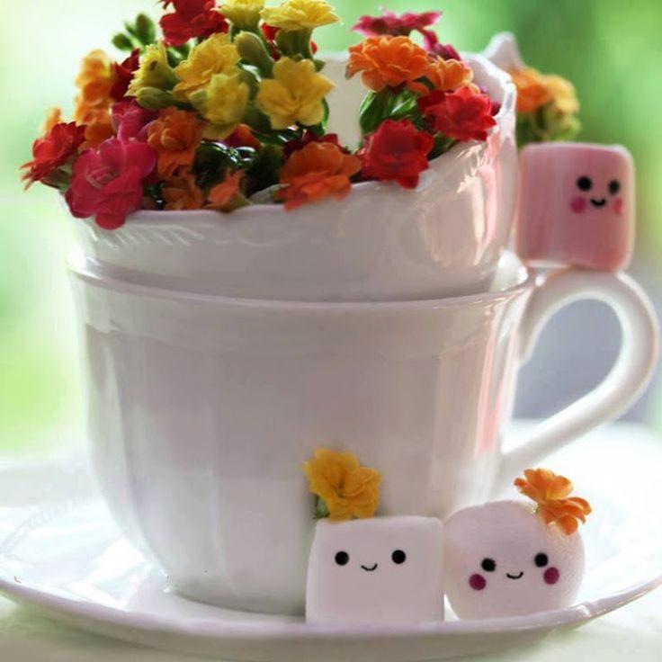 Нежными цветами, доброе утро картинки на турецком