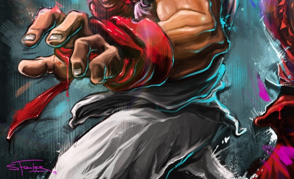 Street Fighter Cameo on Behance