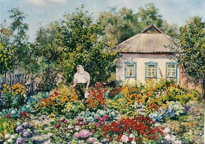 Полуян - Внукова Надежда ..Самый лучший в мире дом