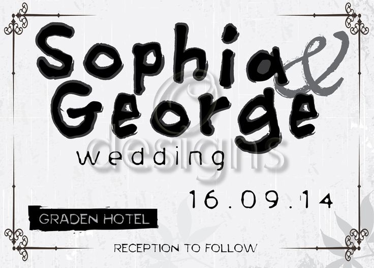 Wedding Digital Invitation No 5