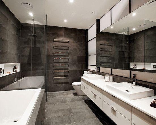 41 best images about bachelor pad design on pinterest - Modern bathroom design ideas ...
