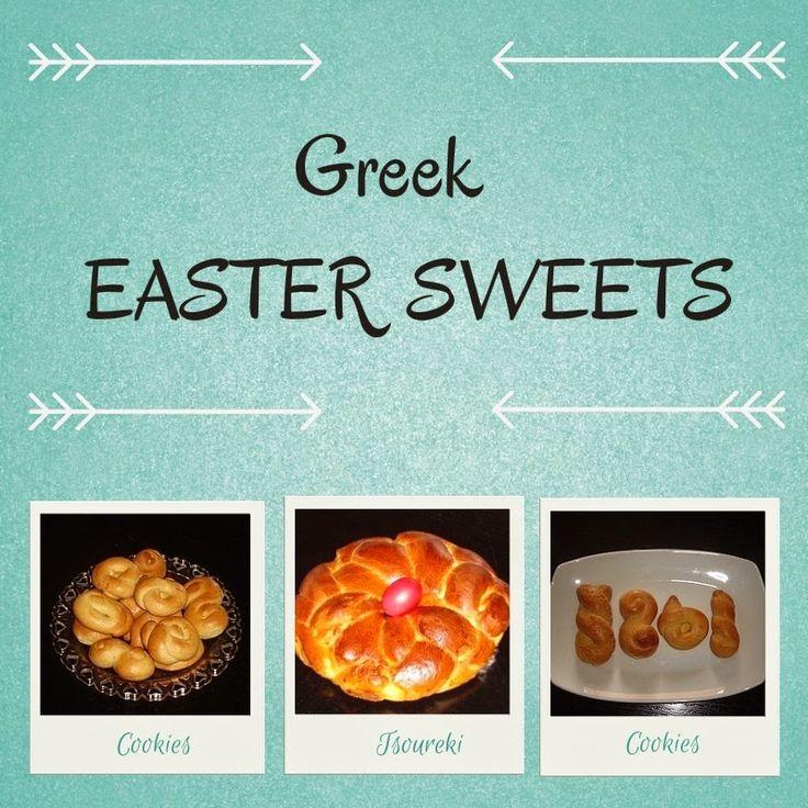 Greek Easter Sweets