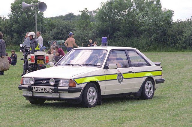 Ford Escort XR3 Police Car