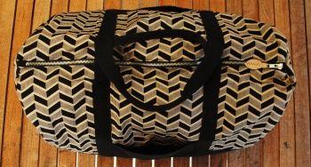 Rebecca's totally awesome Chevron Portside Duffle Bag
