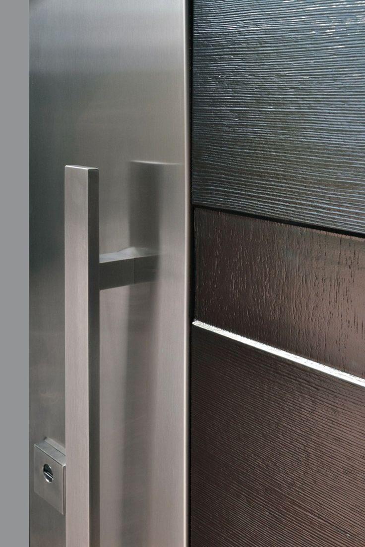 1000 ideas sobre puertas blindadas en pinterest puertas for Puertas de acero inoxidable
