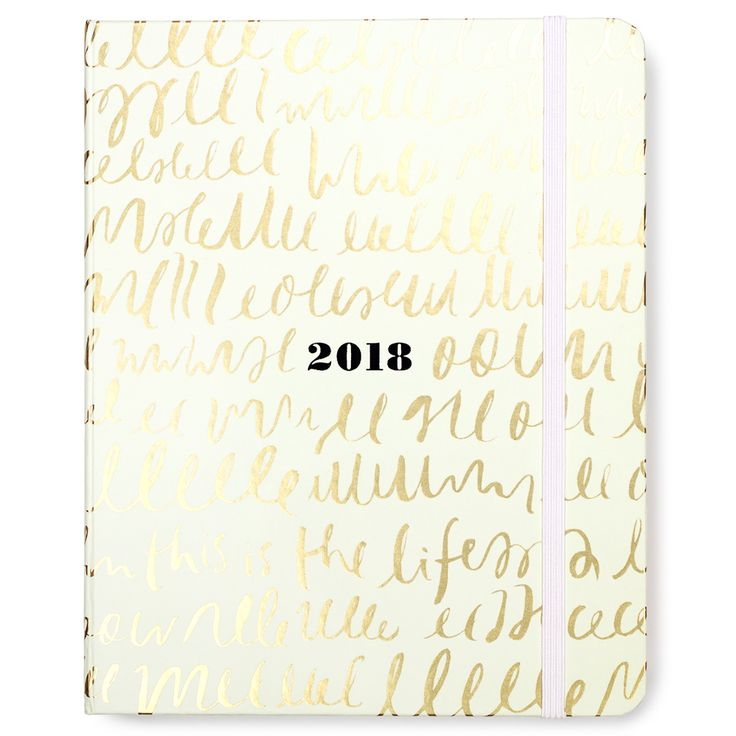 kate spade NEW YORK 2017-2018 17 Month Large Agenda in This is the Life at The Paper Store