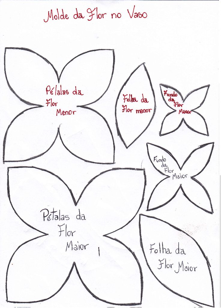Patrones de flores de papel para imprimir buscar con for Moldes para pavimentos de hormigon