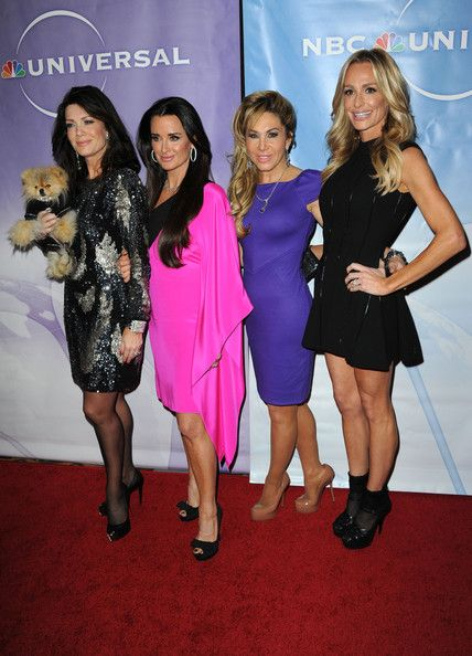 Lisa Vanderpump Photos - The Real Housewifes of Beverly Hills  Lisa VanderPump, Kyle Richards, Adrieanne Maloof, Taylor Armstrong arrives at the NBC Universal 2011 Winter TCA Press Tour All-Star Party at the Langham Huntington Hotel on January 13, 2011 in Pasadena, California. - NBC Universal 2011 Winter TCA Press Tour All-Star Party