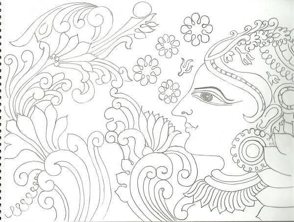 97 best mural painting images on pinterest mural art for Asha mural painting