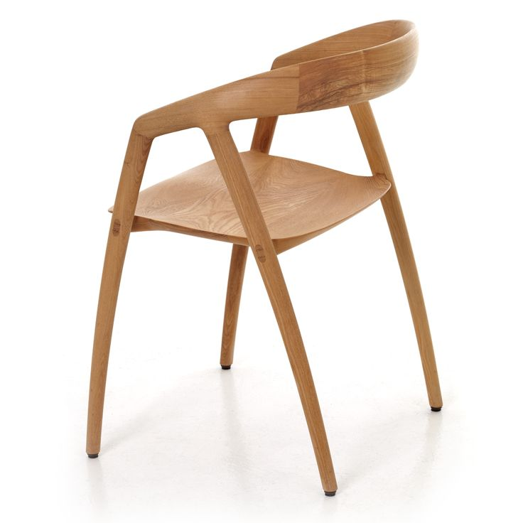 Chair In Solid Oak, Sculpted To Perfection By Japanese/Danish Design Duo  Inoda+Sveje. Available At Great Dane.