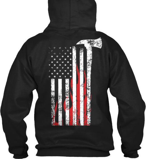 AFA Flag design-Hoodie  http://teespring.com/afa-firefighterflag