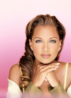 Cool blue eyes and flawless skin . . . Vanessa Williams
